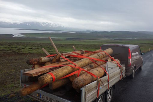 Savaging Drift Wood with Oddur and his unlce II