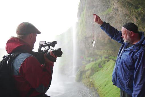 Wasserfall und Pendel